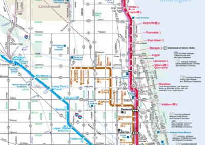 SSA43 - Northside Transit Map