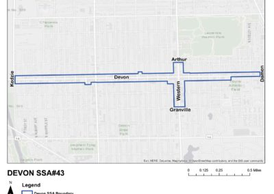 SSA43 Map